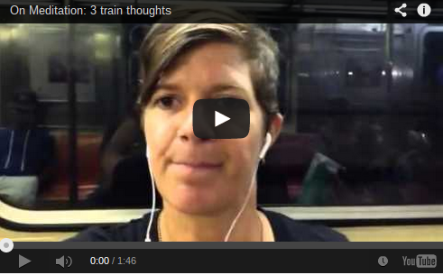 3 train thoughts
