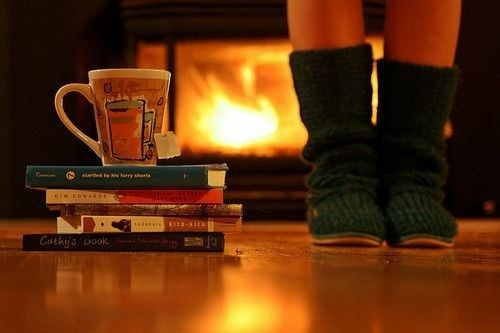 books-boots-drink-fire-fireplace-Favim.com-111366